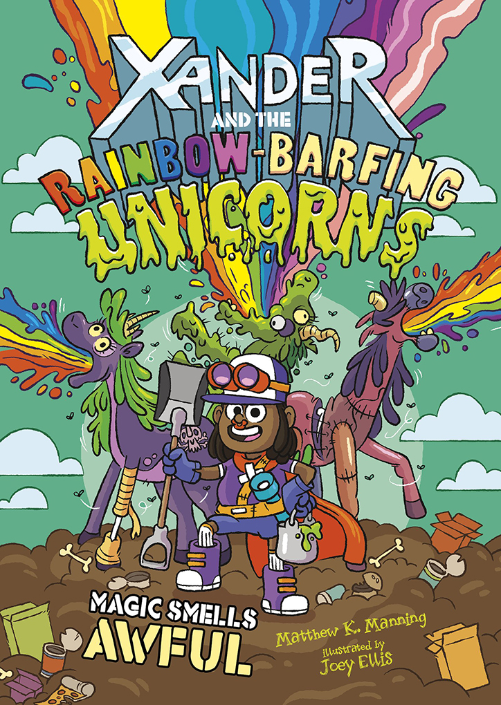 YAYBOOKS! August 2018 Roundup - Xander and the Rainbow Barfing Unicorns