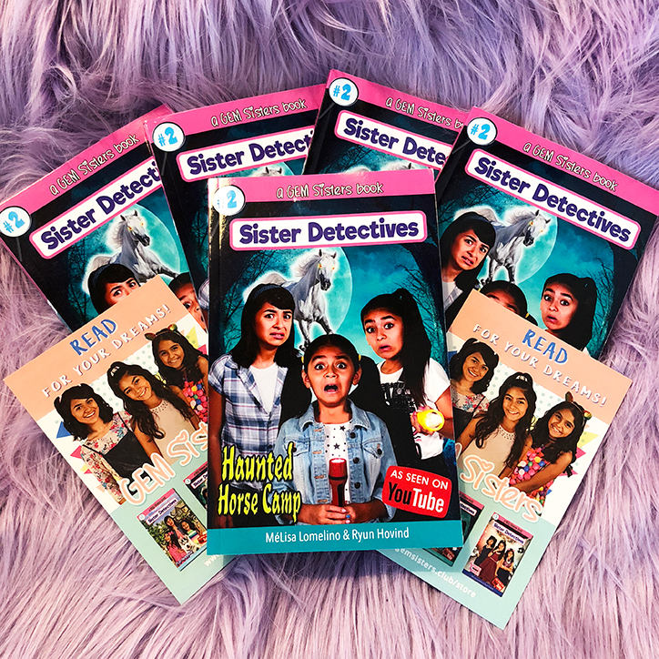 GEM Sisters: Sister Detectives: Haunted Horse Camp Giveaway