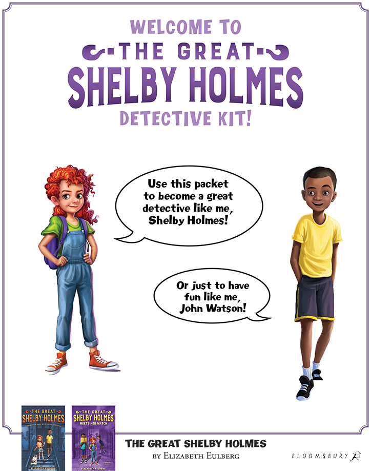 The Great Shelby Holmes and the Coldest Case Fun Facts with Author Elizabeth Eulberg