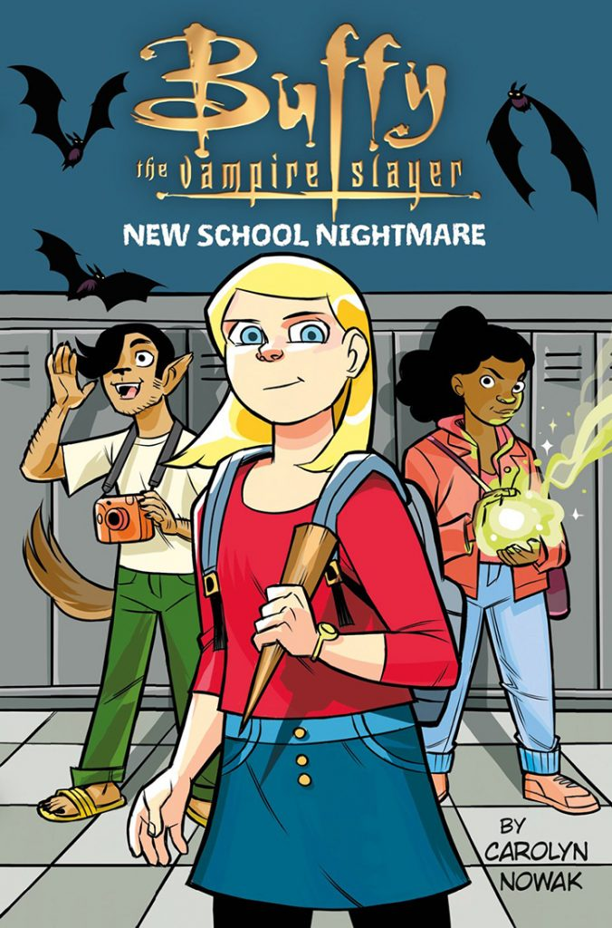 YAYBOOKS! September 2018 Roundup - Buffy the Vampire Slayer: New School Nightmare