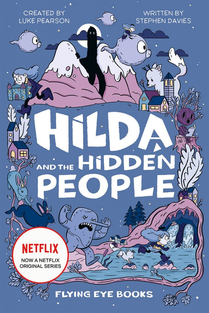 YAYBOOKS! September 2018 Roundup - Hilda and the Hidden People