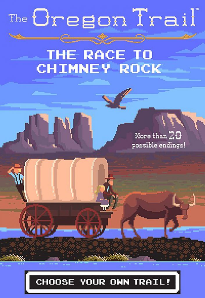 YAYBOOKS! September 2018 Roundup - The Oregon Trail: The Race to Chimney Rock