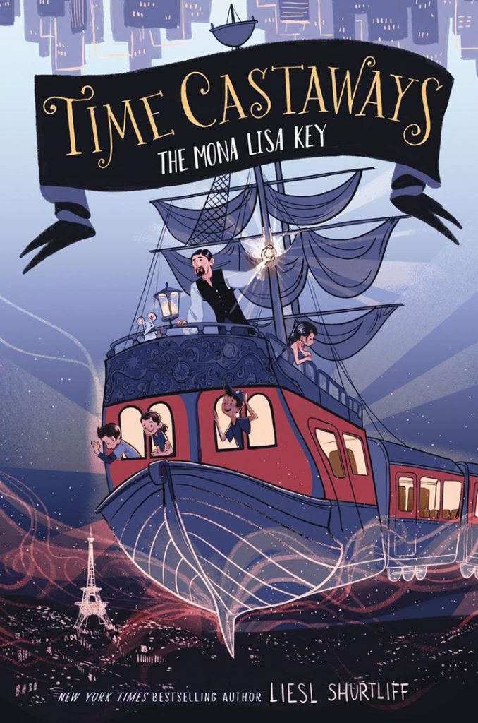 YAYBOOKS! September 2018 Roundup - Time Castaways: The Mona Lisa Key