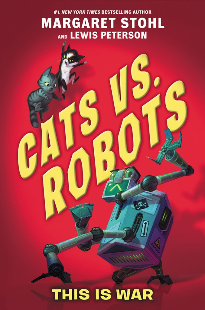YAYBOOKS! September 2018 Roundup - Cats vs. Robots: This is War