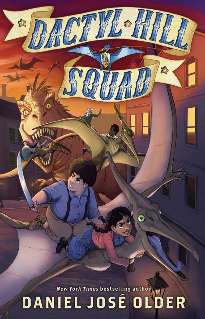 YAYBOOKS! September 2018 Roundup - Dactyl Hill Squad
