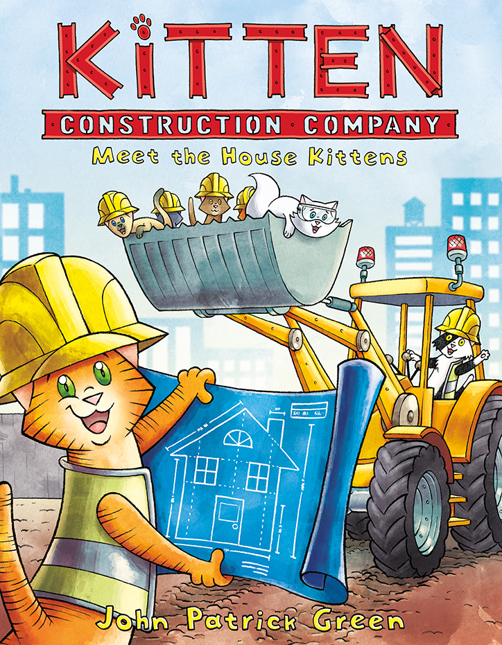 YAYBOOKS! September 2018 Roundup - Kitten Construction Company: Meet the House Kittens