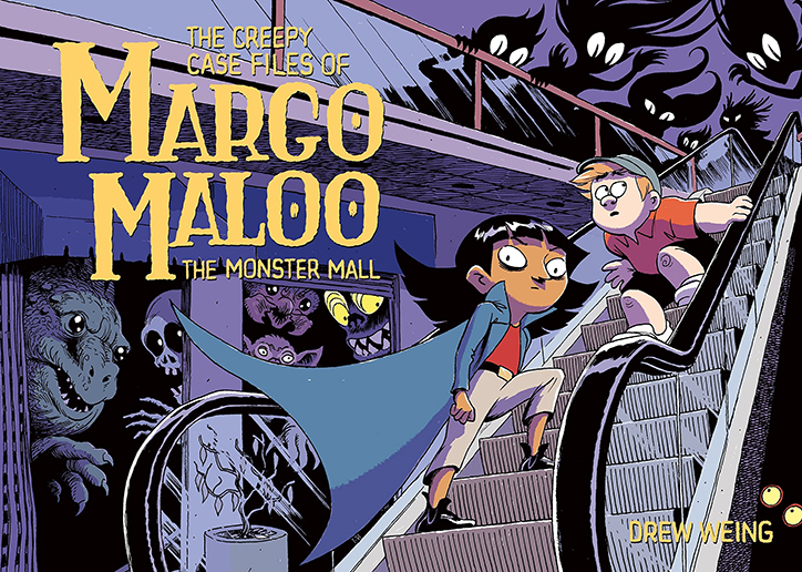 YAYBOOKS! September 2018 Roundup - The Creepy Case Files of Margo Maloo: The Monster Mall