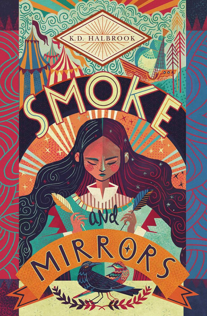 YAYBOOKS! September 2018 Roundup - Smoke and Mirrors