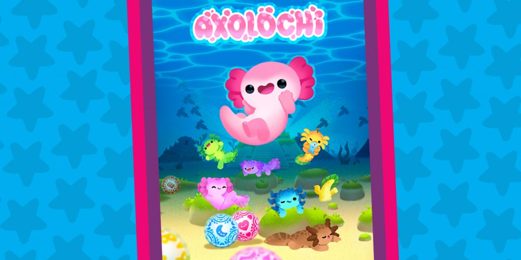 Evolve and Care for Lovable Axolotyl in Axolochi