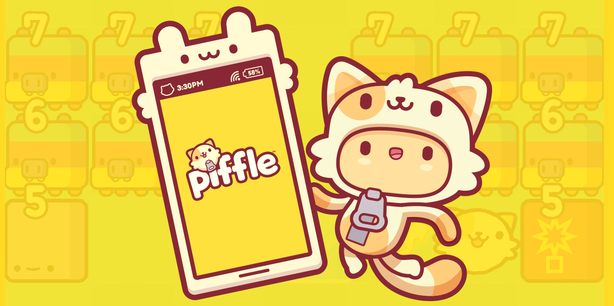 Piffle is a Adorably Charming Block Breaking Adventure