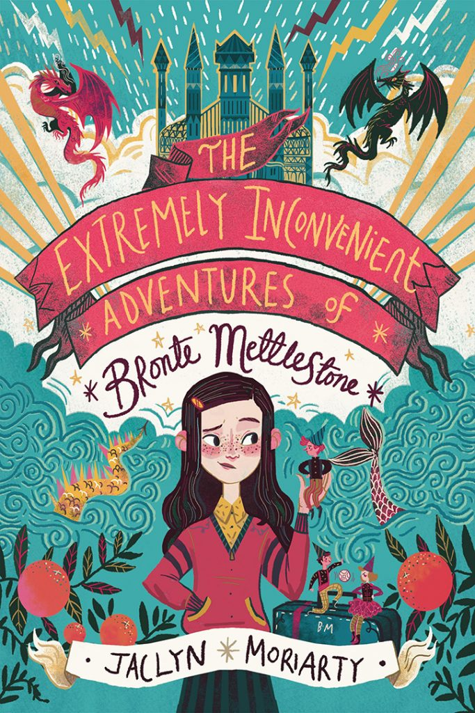 YAYBOOKS! October 2018 Roundup - The Extremely Inconvenient Adventures of Bronte Mettlestone
