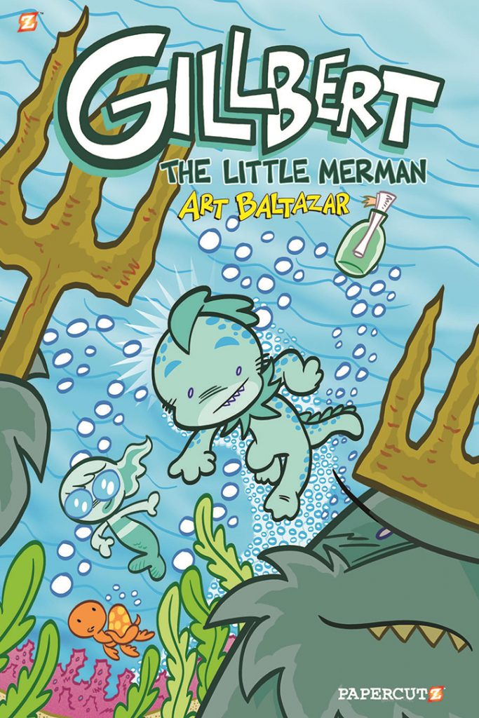 YAYBOOKS! October 2018 Roundup - Gillbert: The Little Merman