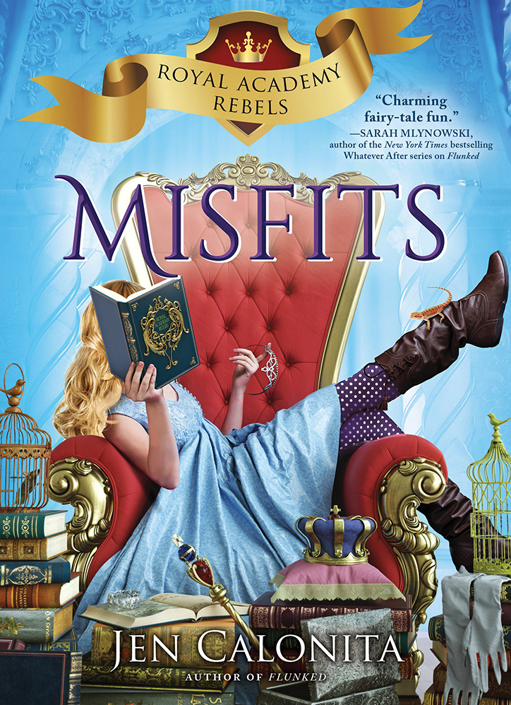 YAYBOOKS! October 2018 Roundup - Royal Academy Rebels: Misfits