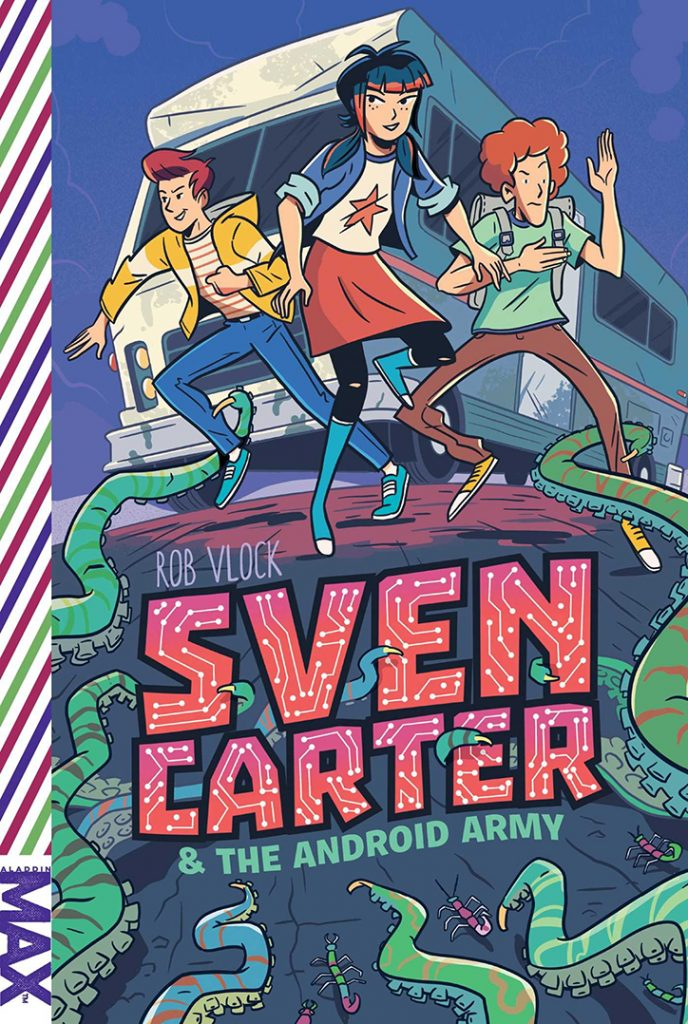YAYBOOKS! October 2018 Roundup - Sven Carter and the Android Army