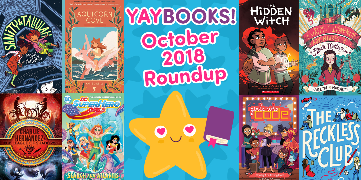 YAYBOOKS! October 2018 Roundup