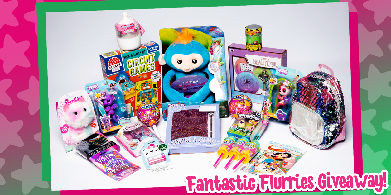 YAYOMG! Fantastic Flurries Prize Pack Giveaway