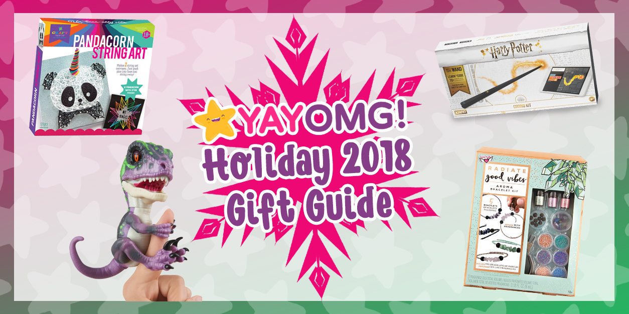 YAYOMG! Holiday 2018 Gift Guide