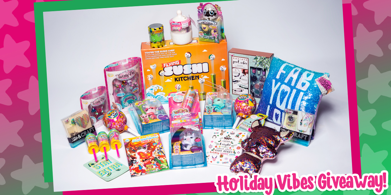 YAYOMG! Holiday Vibes Prize Pack Giveaway