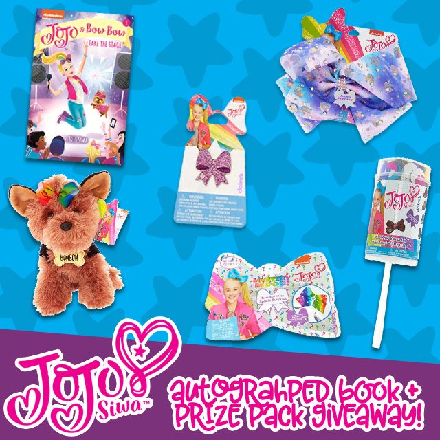 JoJo & BowBow Take the Stage: Autographed Book + Prize Pack GIVEAWAY