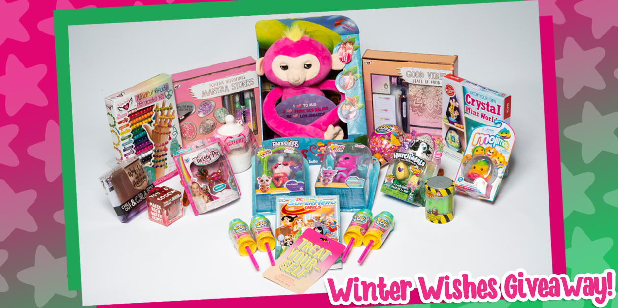 YAYOMG! Winter Wishes Prize Pack Giveaway