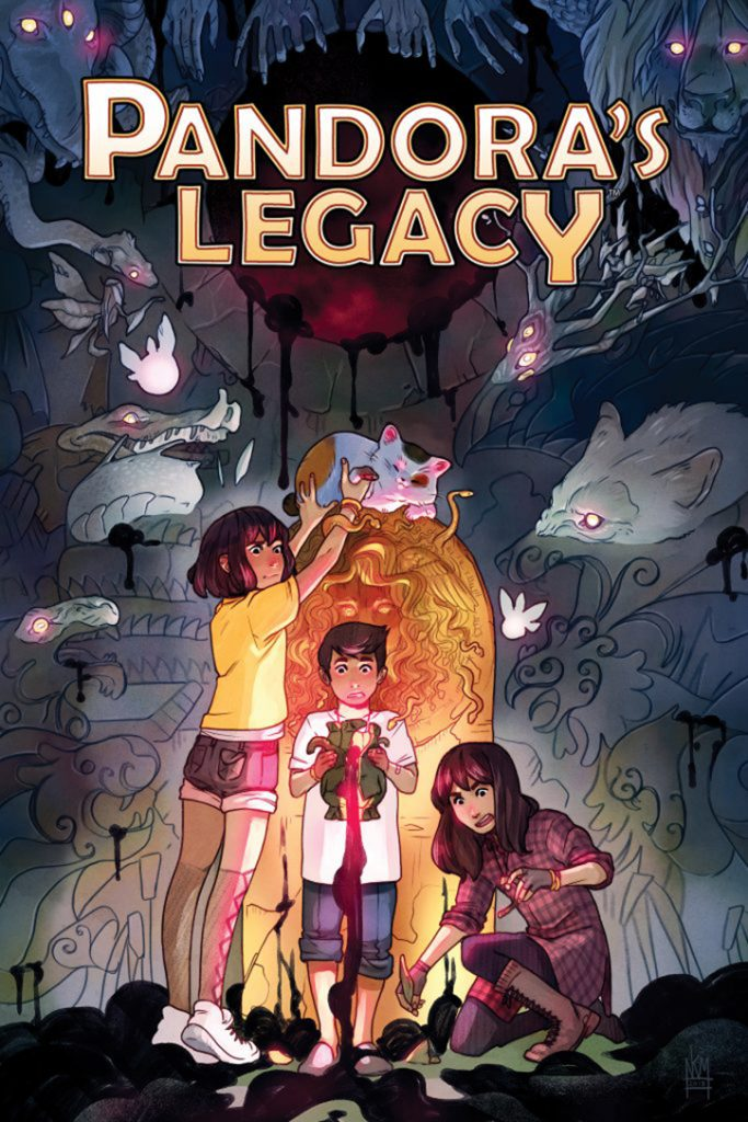 YAYBOOKS! November 2018 Roundup - Pandora's Legacy