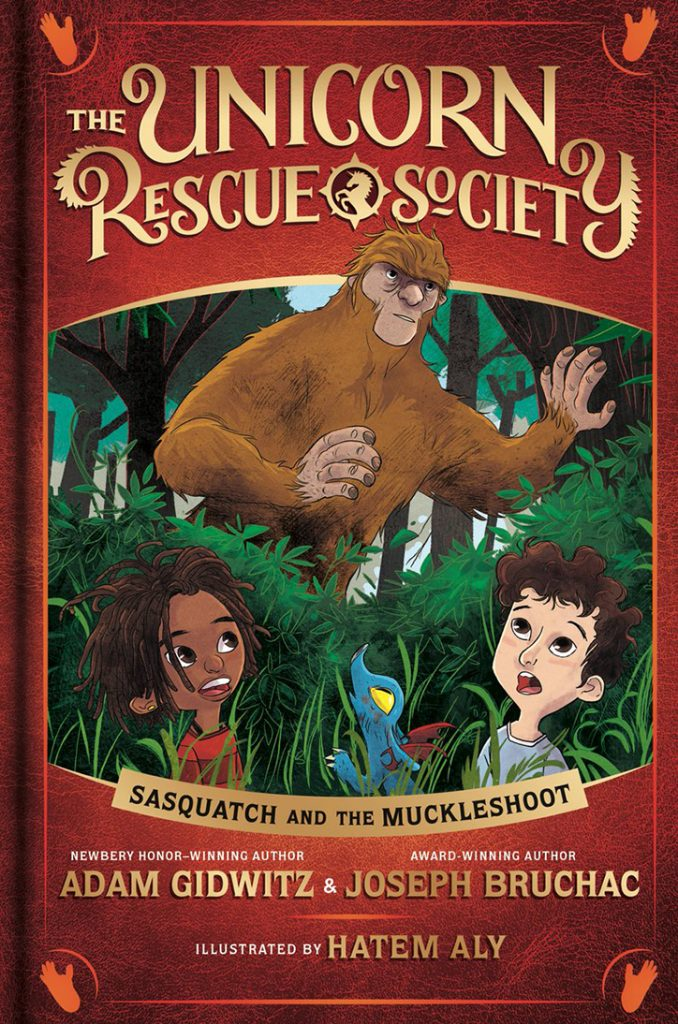 YAYBOOKS! November 2018 Roundup - The Unicorn Rescue Society: Sasquatch and Muckleshoot