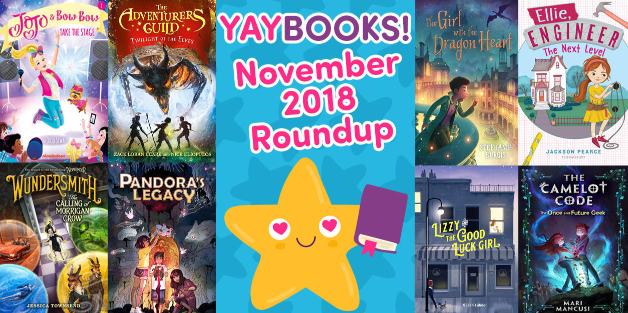 YAYBOOKS! November 2018 Roundup
