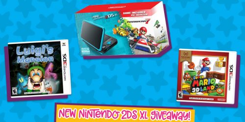 Get Your Game on With Our New Nintendo 2DS XL Prize Pack GIVEAWAY