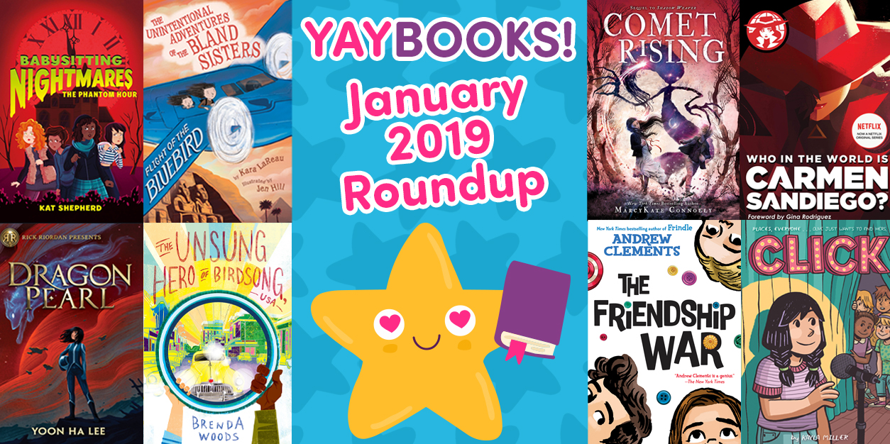 YAYBOOKS! January 2019 Roundup