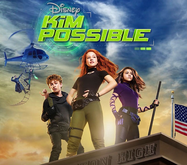 Disney Channel Kim Possible Movie Poster
