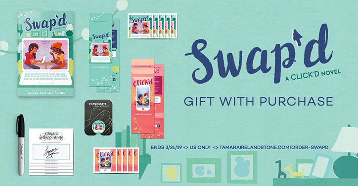 SWAP'D Gift with Purchase Swag Goodies Poster