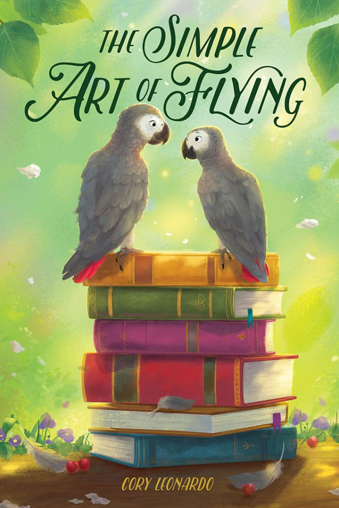 The Simple Art of Flying - Interview with Author Cory Leonardo