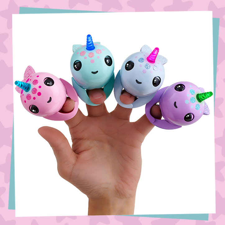 Fingerlings Narwhals are Adorably Magical