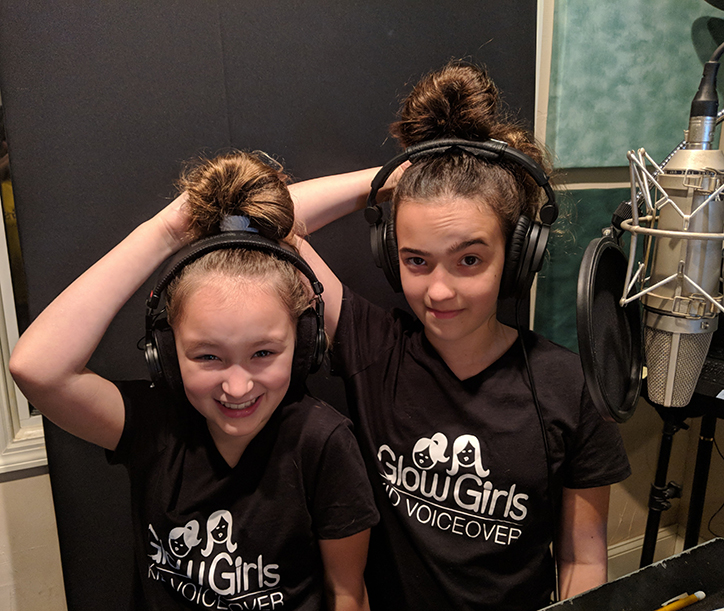Meet Voice Over Artists Cassie and Sabrina Glow