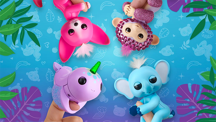 Heart Eyes - Fingerlings Narwhals, Foxes, and Elephants