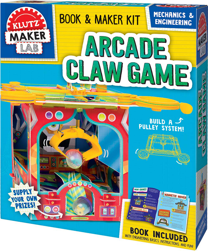 Heart Eyes - Klutz Maker Lab Arcade Claw Machine