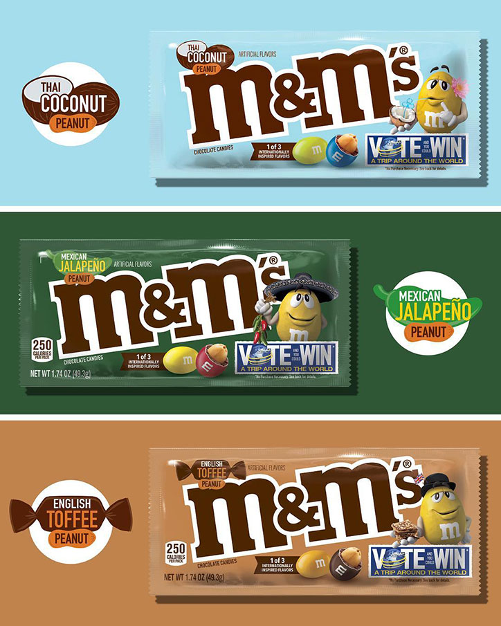 Heart Eyes - M&Ms Flavor Vote 2019
