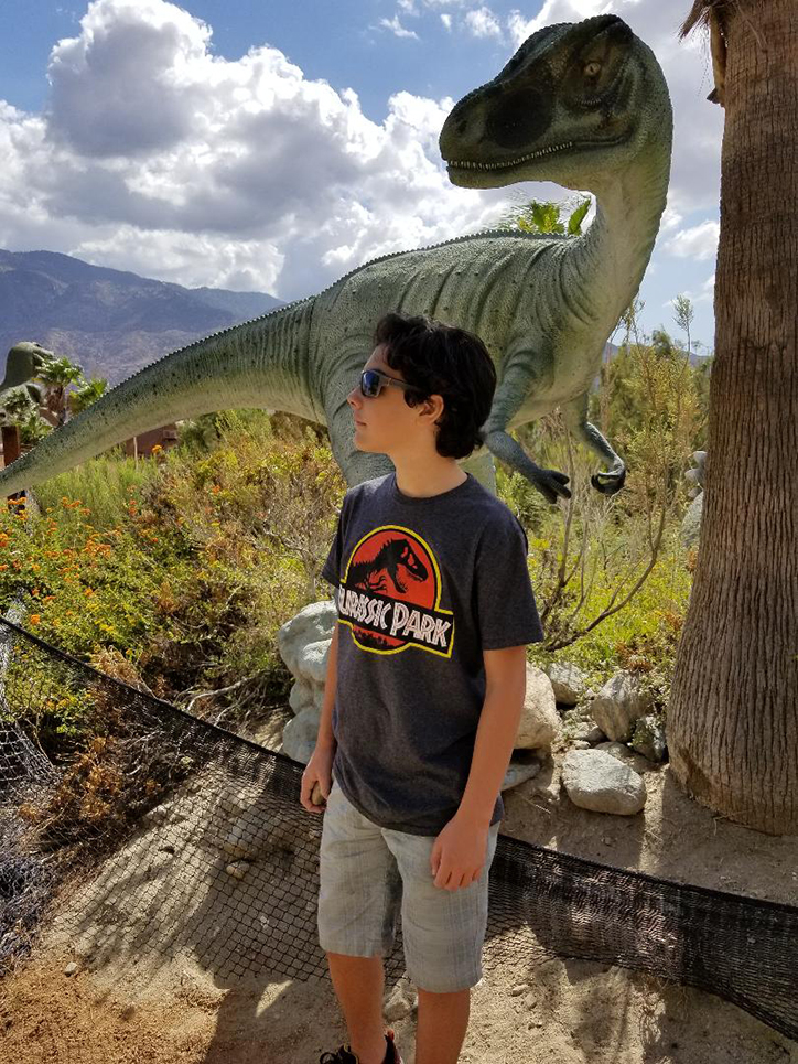 Hunter Payton on Acting, Dinosaurs, and Hats for Thoughts