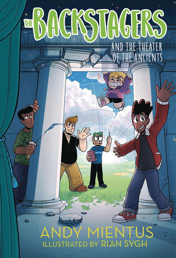 YAYBOOKS! March 2019 Roundup - The Backstagers and the Theater of the Ancients