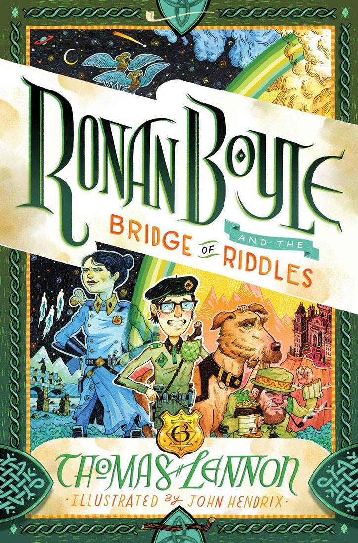 YAYBOOKS! March 2019 Roundup - Ronan Boyle and the Bridge of Riddles