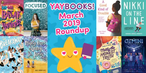 YAYBOOKS! Here's What You Should Read in March 2019