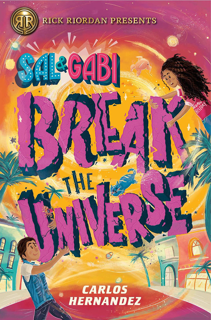 YAYBOOKS! March 2019 Roundup - Sal and Gabi Break the Universe