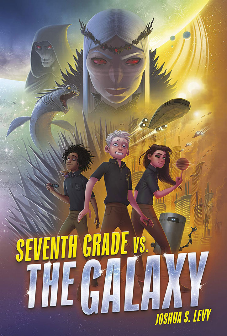 YAYBOOKS! March 2019 Roundup - Seventh Grade vs. the Galaxy