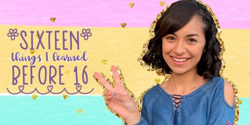 Giselle Lomelino Shares 16 Things She Learned Before Turning 16