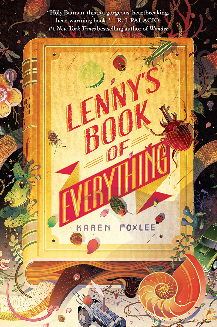 YAYBOOKS! April 2019 Roundup - Lenny's Book of Everything
