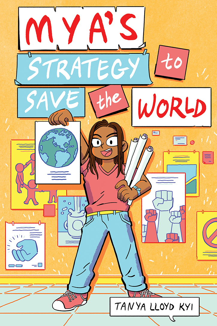 YAYBOOKS! April 2019 Roundup - Mya's Strategy to Save the World