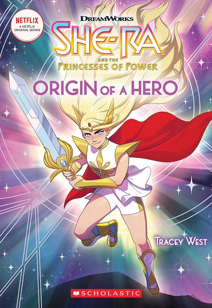 YAYBOOKS! April 2019 Roundup - She-Ra and the Princesses of Power: Origin of a Hero