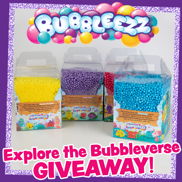 Explore the Bubbleverse with Our Bubbleez Giveaway