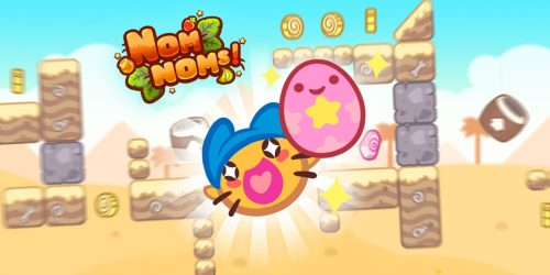 NomNoms is the Cutest Slingshot Adventure Ever
