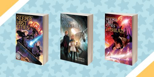Keeper of the Lost Cities: Summer Read-a-Long and GIVEAWAY!